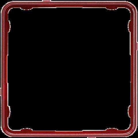 Внутренняя цветная рамка. Цвет Красный металлик. JUNG CD PLUS. CDP81RTM