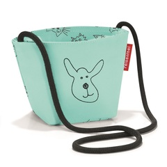 Сумка детская Minibag Cats and dogs mint Reisenthel
