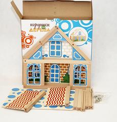 Кукольный дом из дерева МДИ Д225
