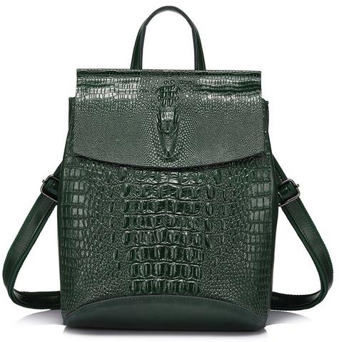 Рюкзак женский JMD Reptilia 3203 Зеленый