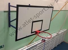 Щит баскетбольный игровой фанерный 18 мм, 1800х1050мм.