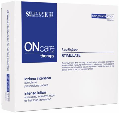Интенсивный стимулирующий лосьон от выпадения волос, Selective Oncare Hair Loss ,8 *8 мл.