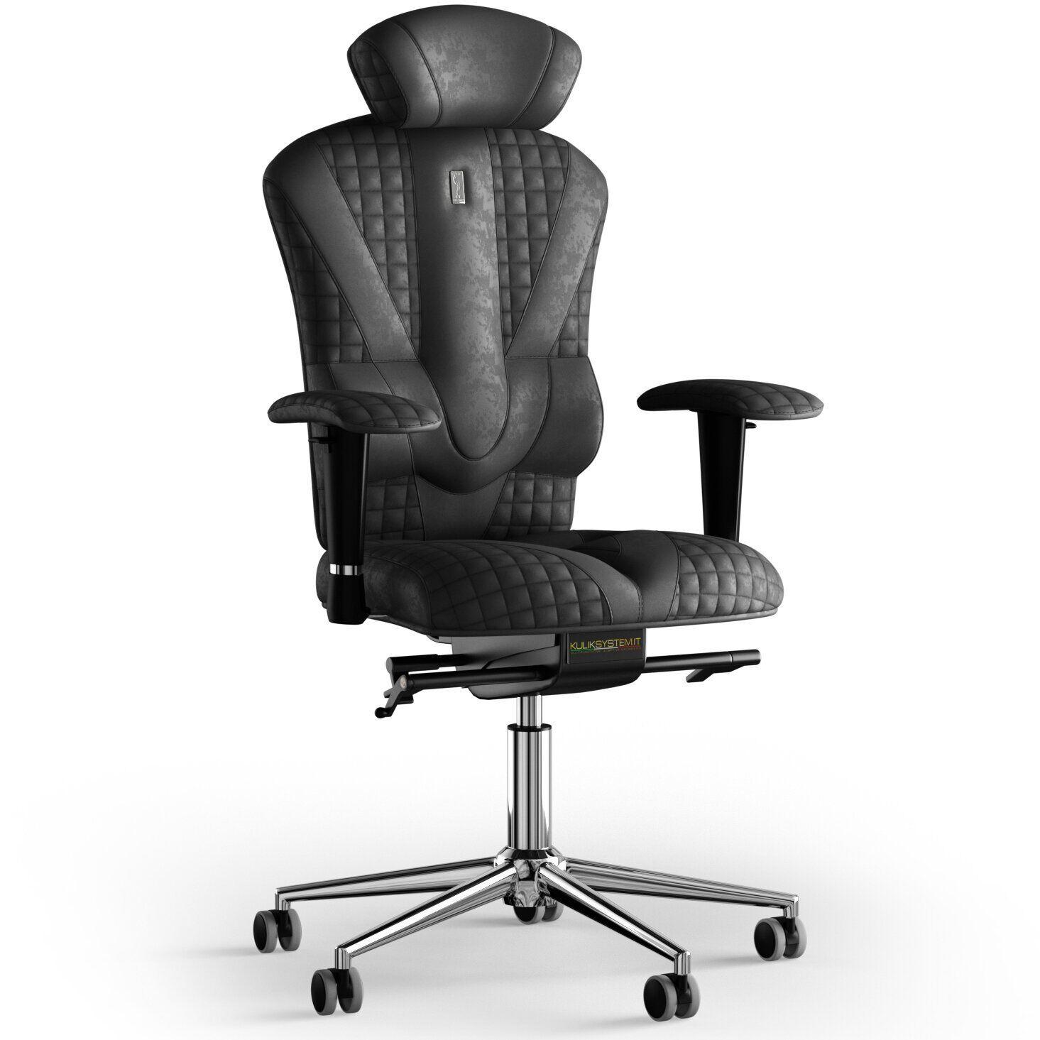 Кресло KULIK SYSTEM VICTORY Антара с подголовником со строчкой
