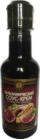 Соус-крем бальзамический со вкусом граната 220мл.(СП Мирный)