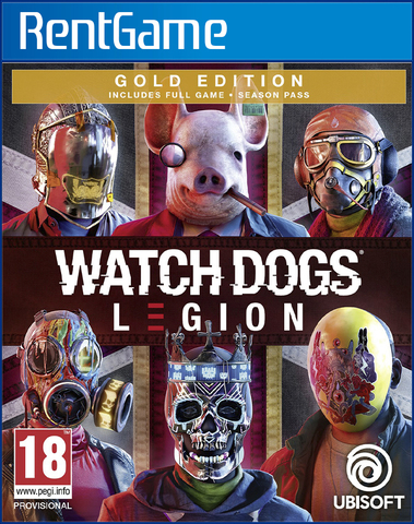 Watch Dogs: Legion - Gold Edition PS4   PS5