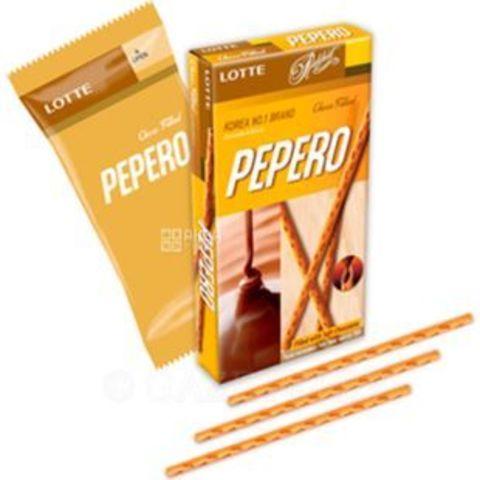 Соломка Lotte Nude Pepero с шоколадной начинкой  50 гр