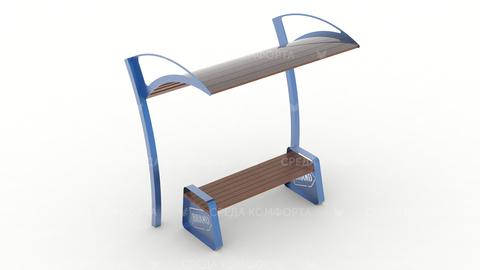 Скамейка с навесом SCAM0125