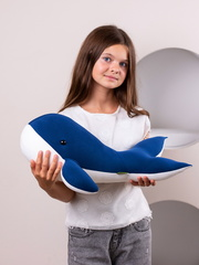 Мягкая игрушка-подушка Gekoko «Китенок Вилли» 1