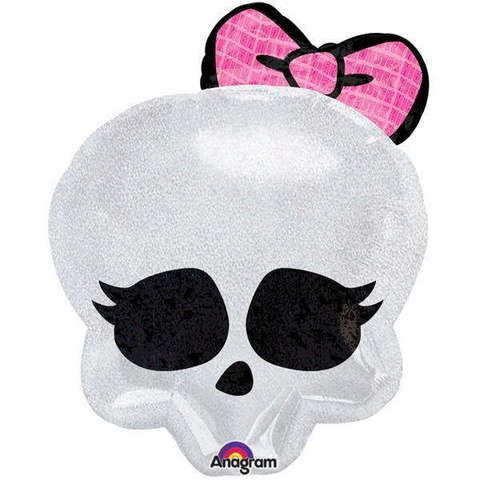 Фольгированный шар Monster High Череп гламур