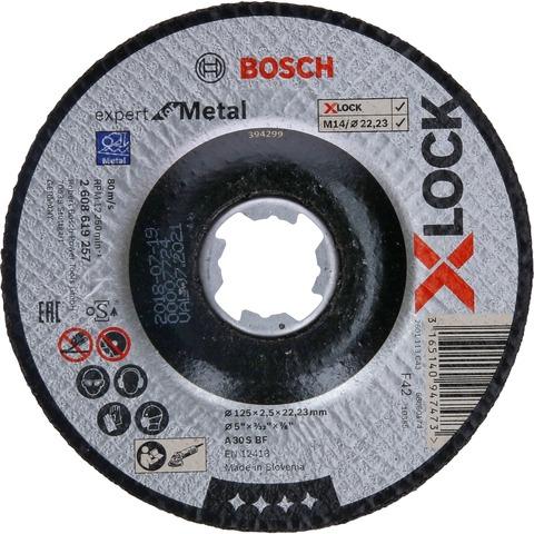 Отрезной диск Metal X-LOCK 125x2,5x22,23