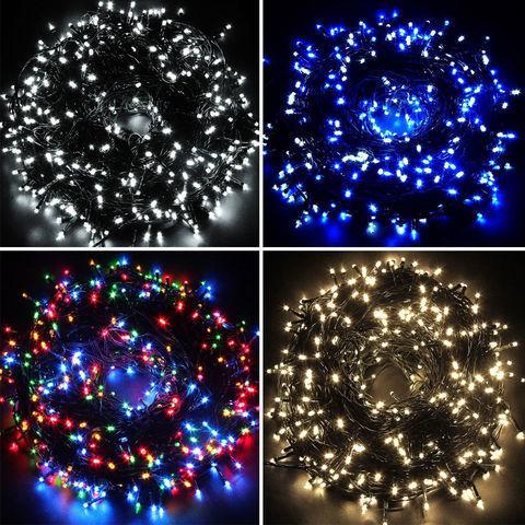 Гирлянда нить 45 метров 800 LED на дерево уличная Мультик