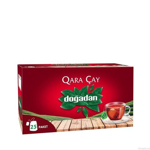 Çay \ Чай \ Black Tea Doğadan Qara çay (paket) 25 ədəd
