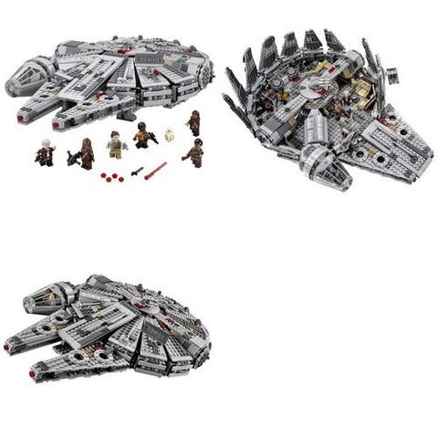 LEGO Star Wars: Сокол Тысячелетия 75105 — Millennium Falcon — Лего Звёздные войны Стар ворз