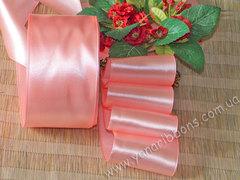 Лента атласная шириной 5см розовая - 036