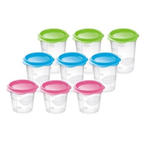 Набор контейнеров Tescoma BAMBINI для продуктов детского питания, 9 шт