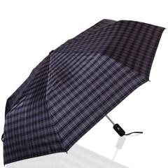 Зонт мужской в клетку ТРИ СЛОНА 907-2