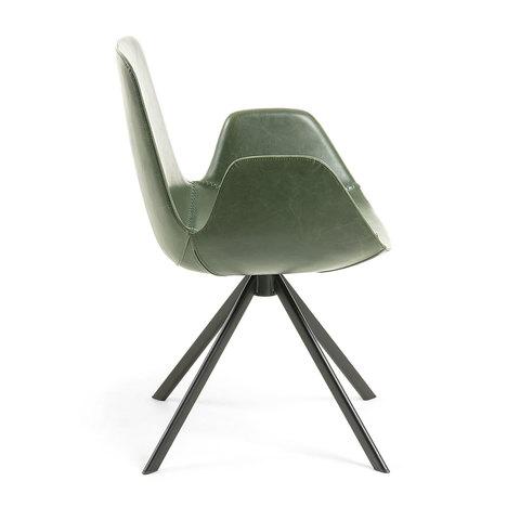 Кресло Yasmin зеленое