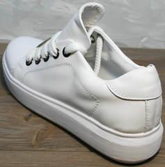 Стильные женские кеды Molly shoes 557 Whate
