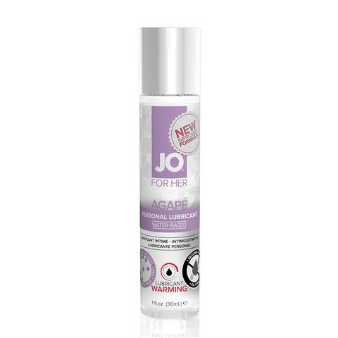 JO AGAPE WARMING, 30 ml Возбуждающий легкий гипоаллергенный лубрикант