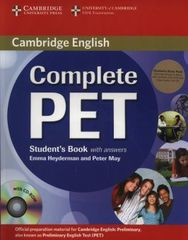Complete PET Student's Book Pack (Student's Book with answers with CD-ROM and Audio CDs (2)
