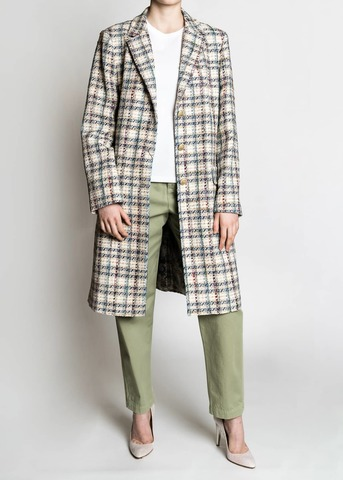 <p>Пальто из хлопка.</p> ETRO
