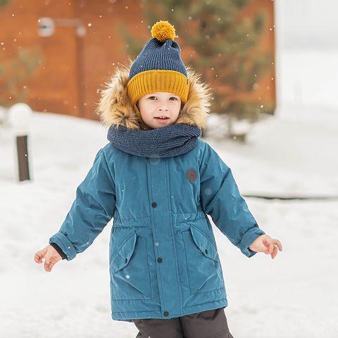 Winter membrane parka - Denim