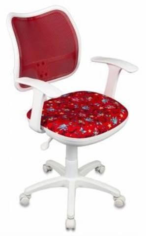 ANCHOR-RD спинка сетка красный сиденье красный якоря ANCHOR-RD сетка (пластик белый)