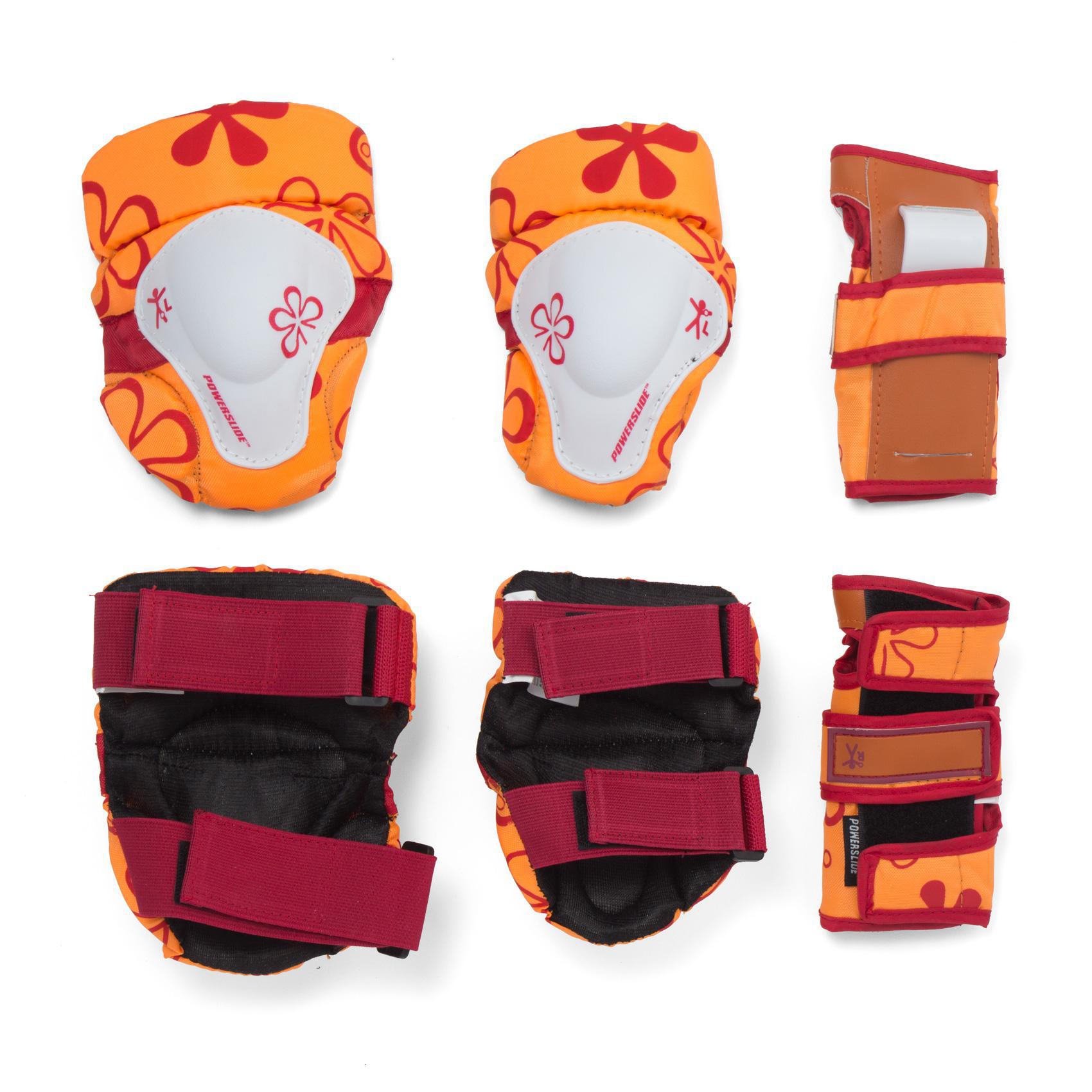 Комплект защиты Powerslide Kids Standart Orange
