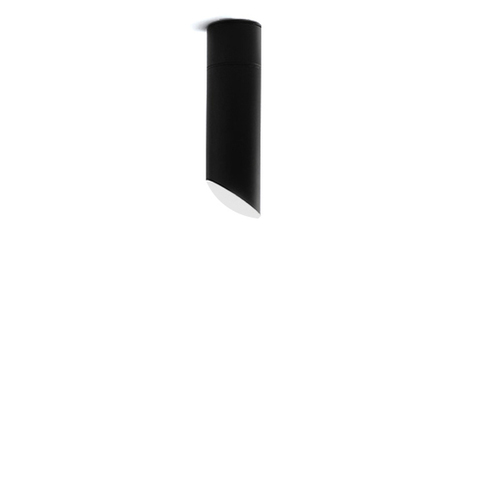 Потолочный светильник копия 45° by Vibia (H20, черный)