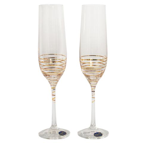 Набор бокалов для шампанского «Виола», 190 мл
