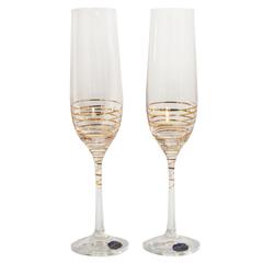 Набор бокалов для шампанского «Виола», 190 мл, фото 1