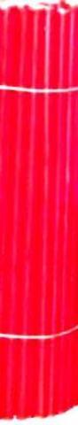 Свечи восковые № 60 (10 шт) красные