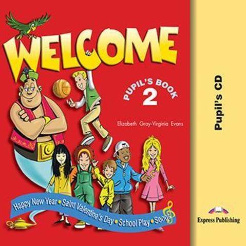 WELCOME 2 SONGS PLAY CD