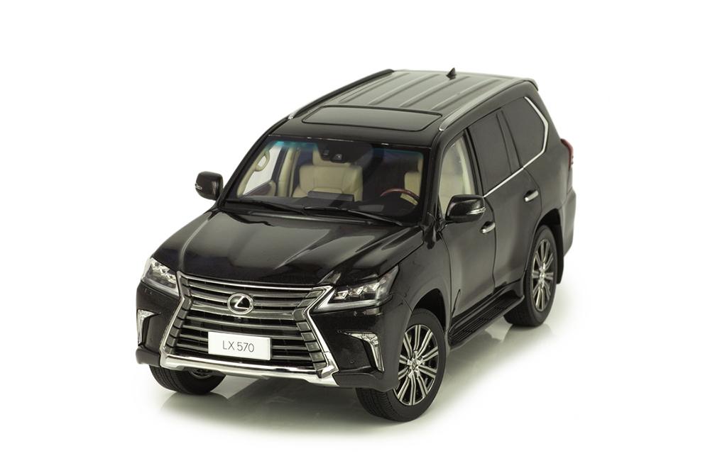 Коллекционная модель LEXUS LX570 2019 BLACK