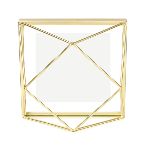 Фоторамка Prisma 10х10 золотистая