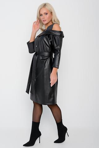 """<p>Хит! Хит! Хит! Идеальное сочетание эко-кожи и трикотажа в новой модели """"Локка"""" от ELZA. Ничто не делает женщину такой элегантной, модной и совершенной, как платье из новой коллекции.&nbsp;</p>"""