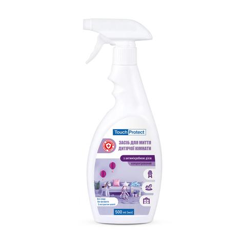 Засіб для миття дитячої кімнати  з антимікробною дією Touch Protect 500 мл (1)