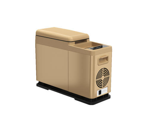Компрессорный автохолодильник Alpicool CF8 (brown) (12V/24V/220V, 8л)