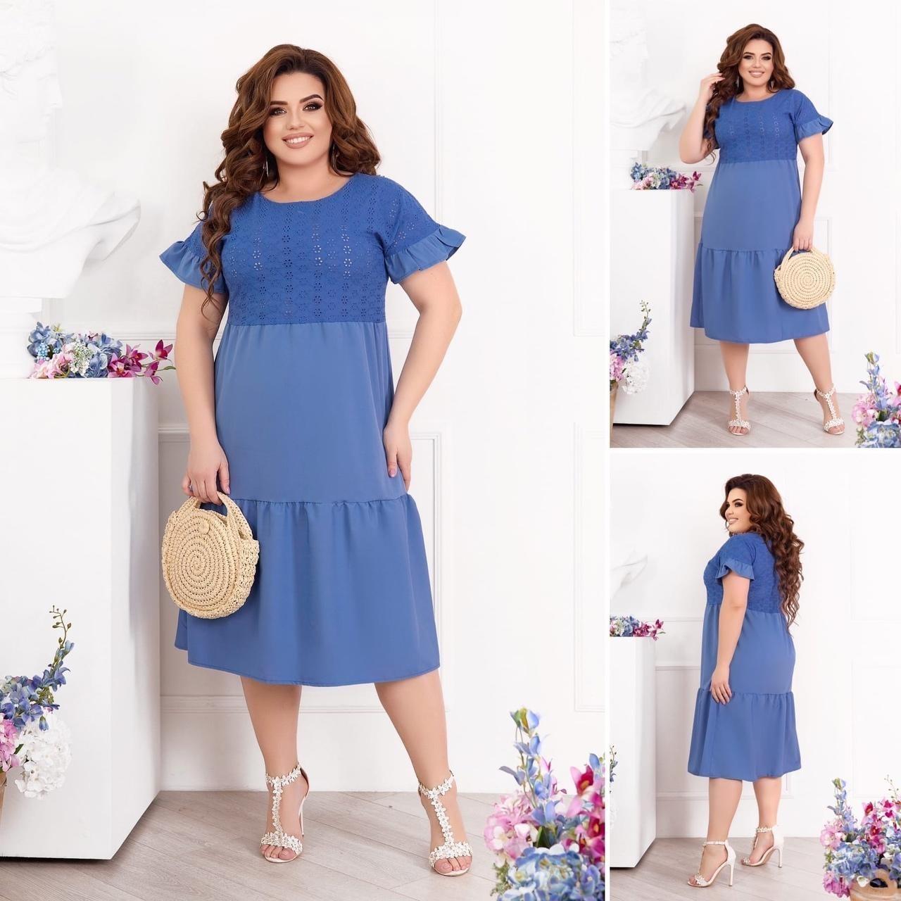 Платье Нежность (2997СВ ,прошва)