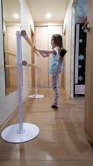 Мобильный балетный станок МК1-2 двухрядный
