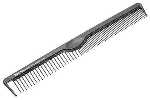 Расческа для стрижки и укладки Harizma 21см карбон h10660