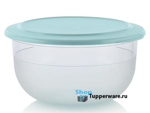 Чаша 3,5л из Сервировочной коллекции Tupperware с бирюзовой крышкой