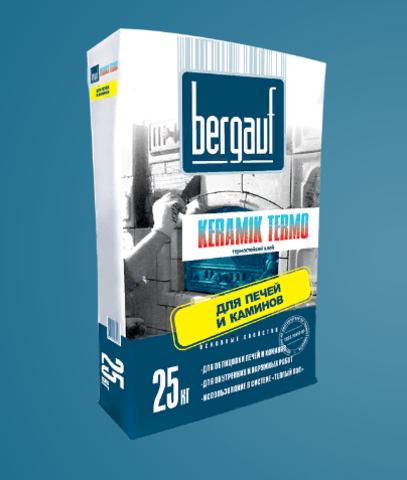 Клей для плитки Бергауф Керамик Термо 25 кг