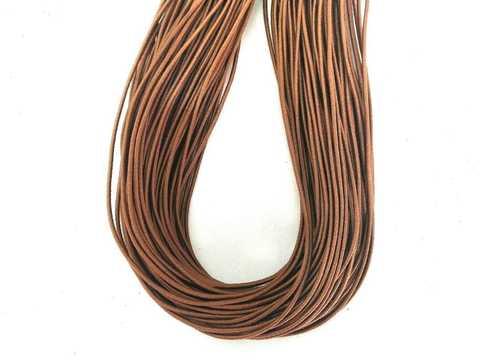 Шляпная резинка, толщина 1мм, цвет какао. 1м.