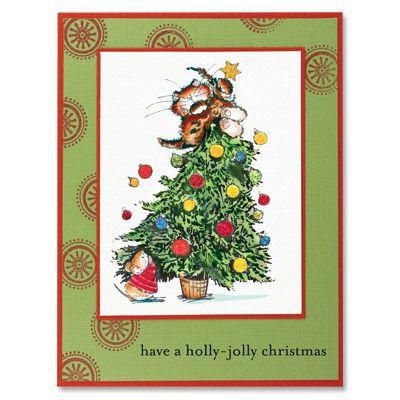 Набор штампов Holly Jolly Christmas