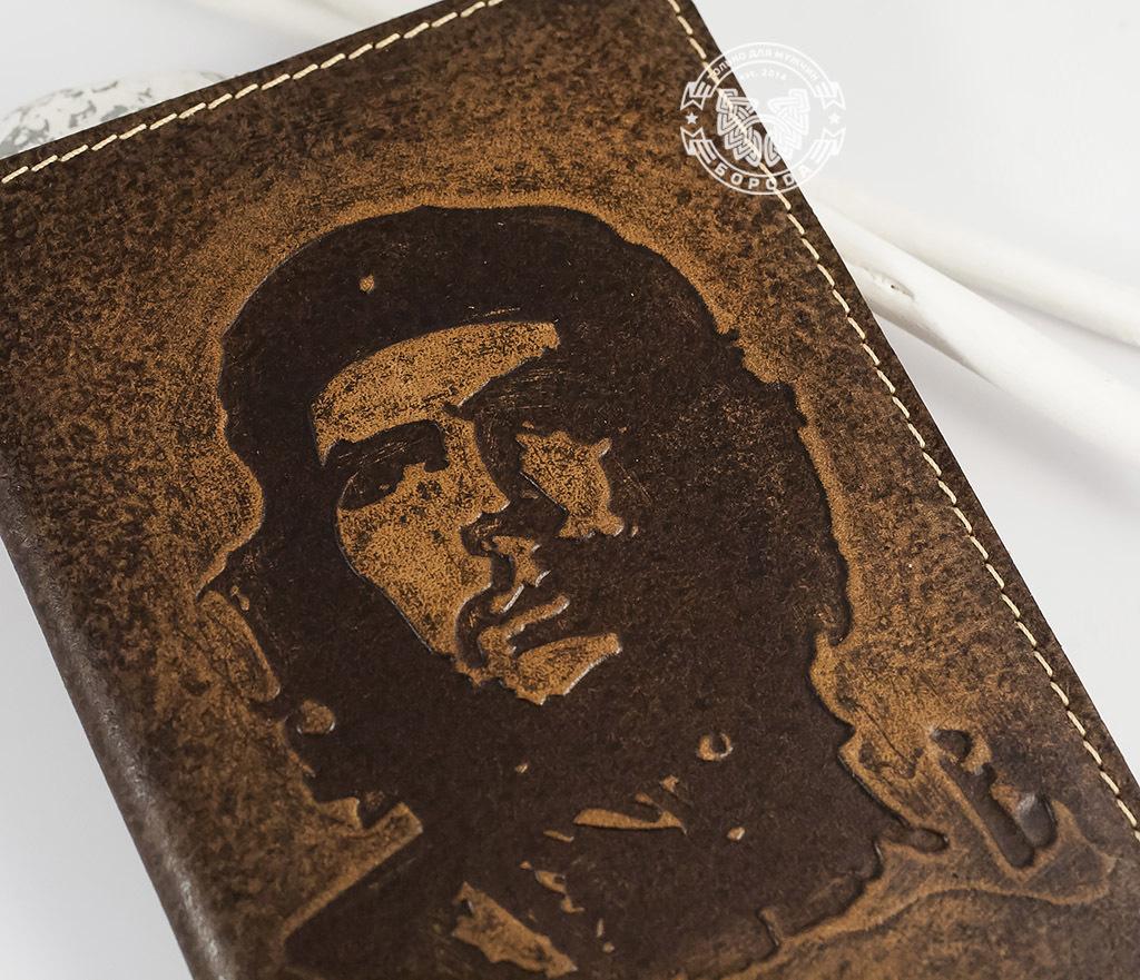 BY14-17-01 Обложка из натуральной кожи «Че Гевара» фото 02