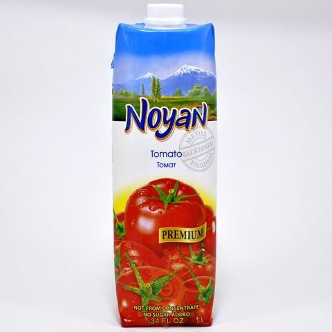 Сок томатный прямого отжима с солью Noyan, 1л.