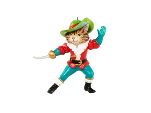 Елочное украшение Кот в сапогах