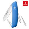Уценка! Швейцарский нож SWIZA D02 Standard, 95 мм, 6 функций, синий