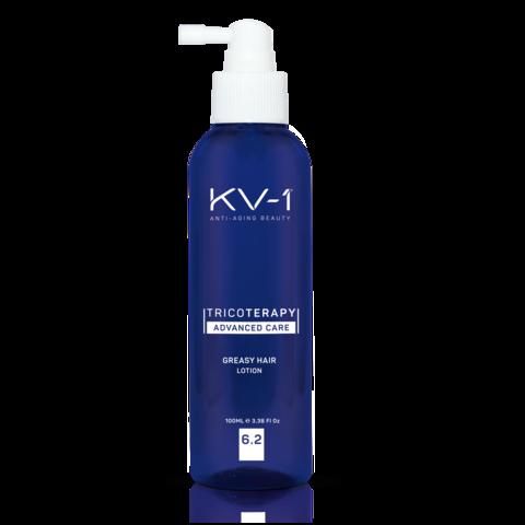KV-1 Лосьон против жирности кожи головы Tricoterapy Advanced Care Greasy Hair Lotion 6.2